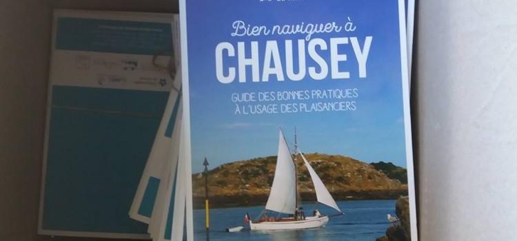 Les guides « Bien naviguer à Chausey » sont arrivés !